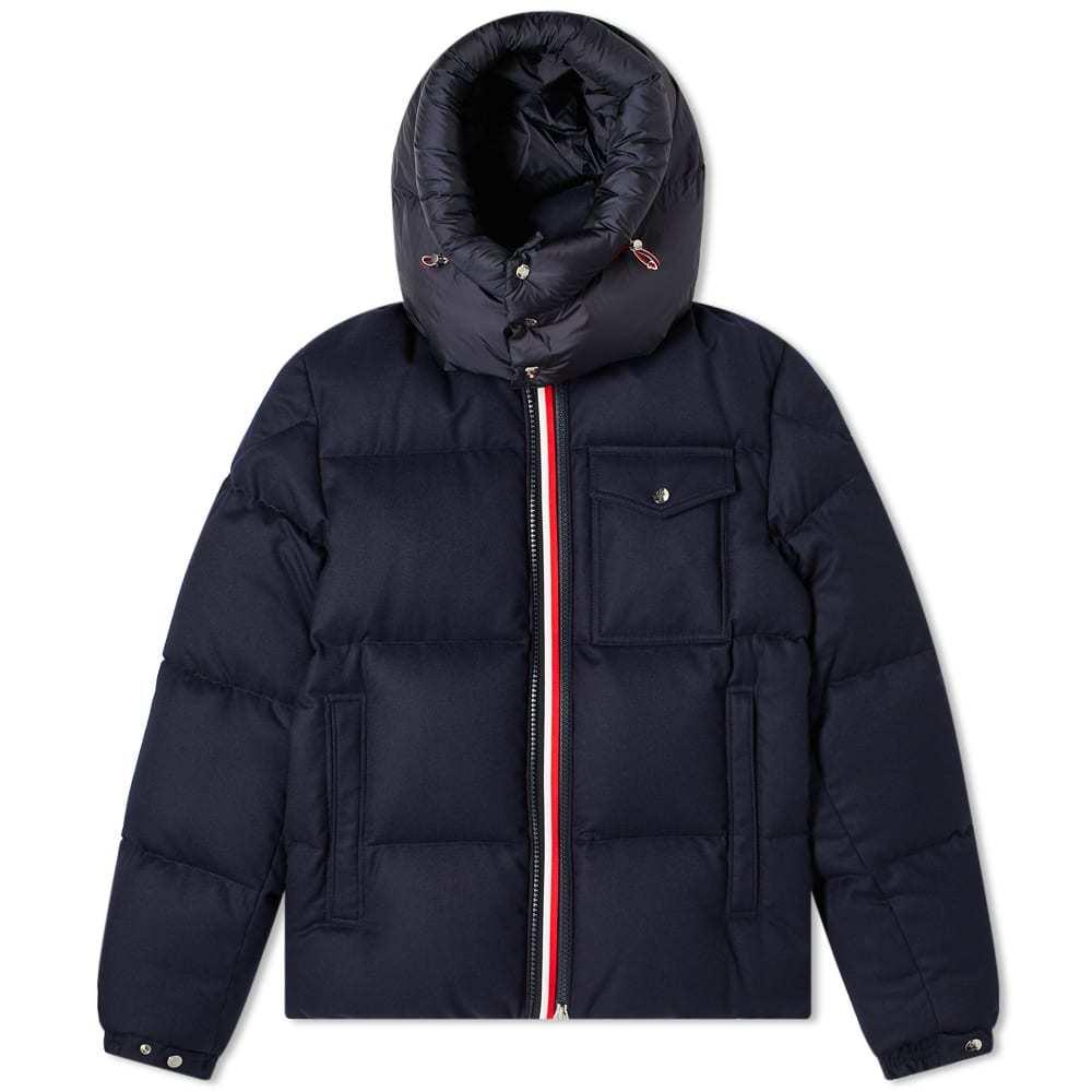 Photo: Moncler Brazeau Wool Down Jacket