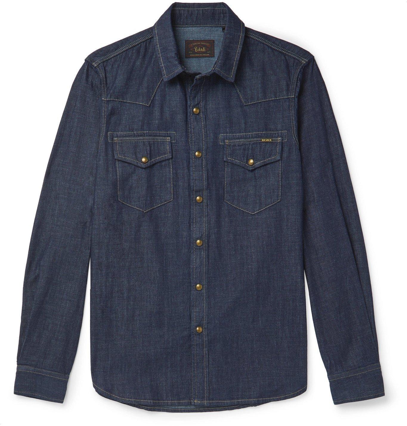 Belstaff - Denim Shirt - Blue