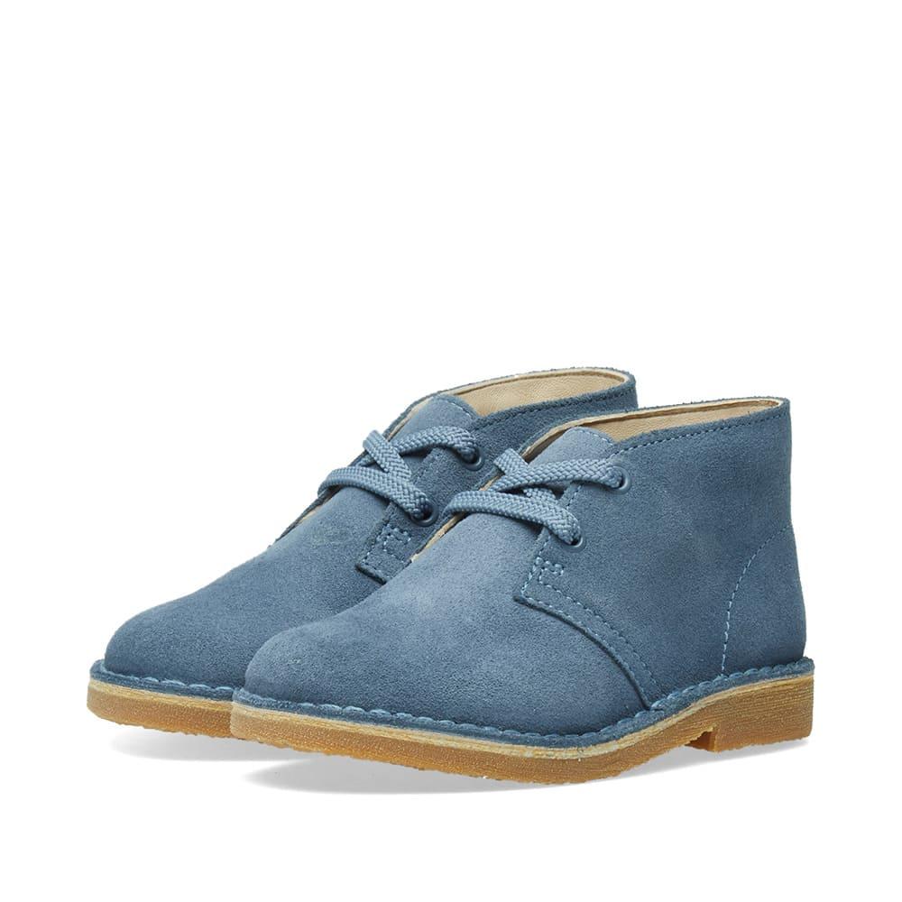 Photo: Clarks Originals Children's Desert Boot Blue