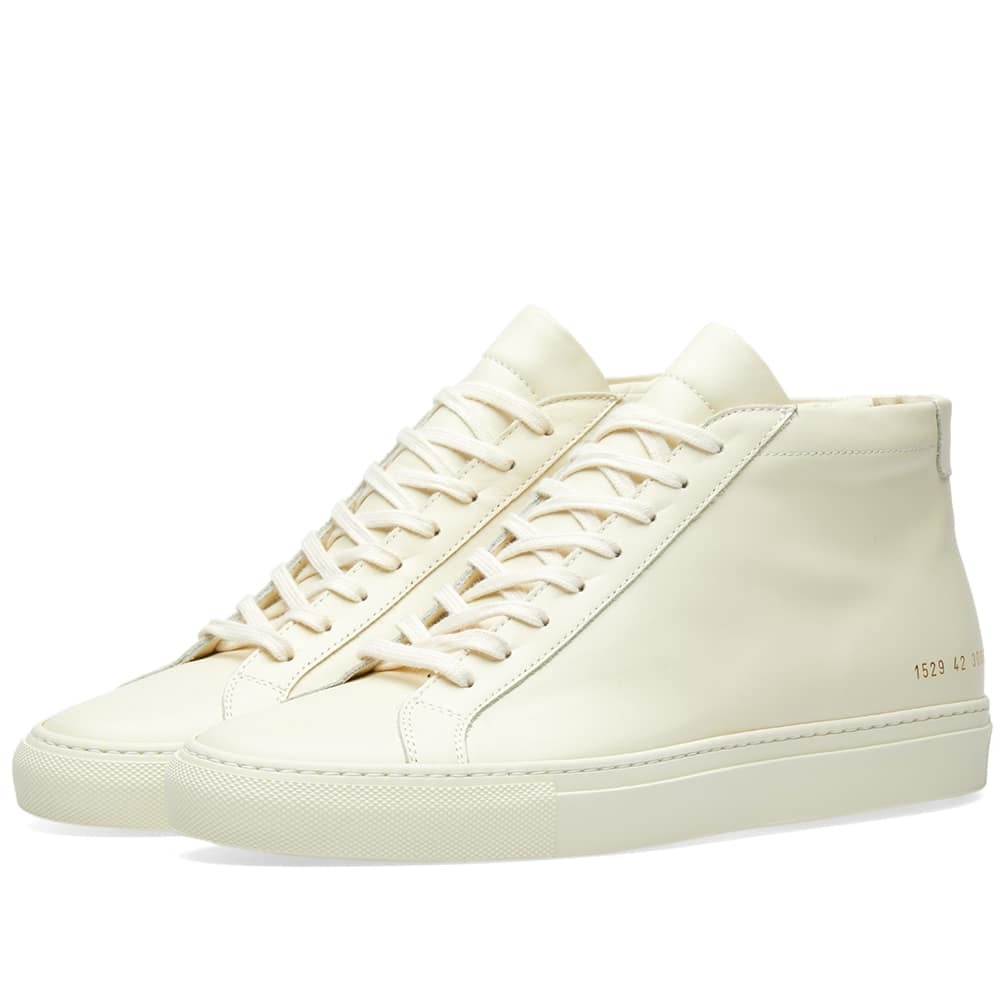 Common Projects Original Achilles Mid Yellow