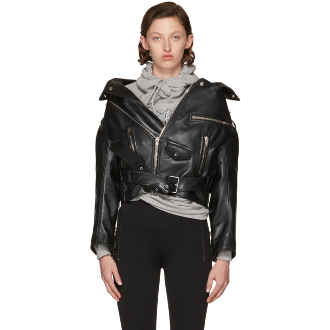 swing oversized biker jacket