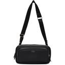 Smythson Black Small Ludlow Organiser Messenger Bag