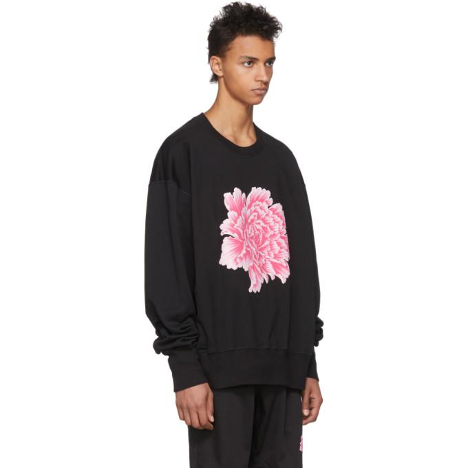 Y-3 Black James Harden Graphic Crew Sweatshirt