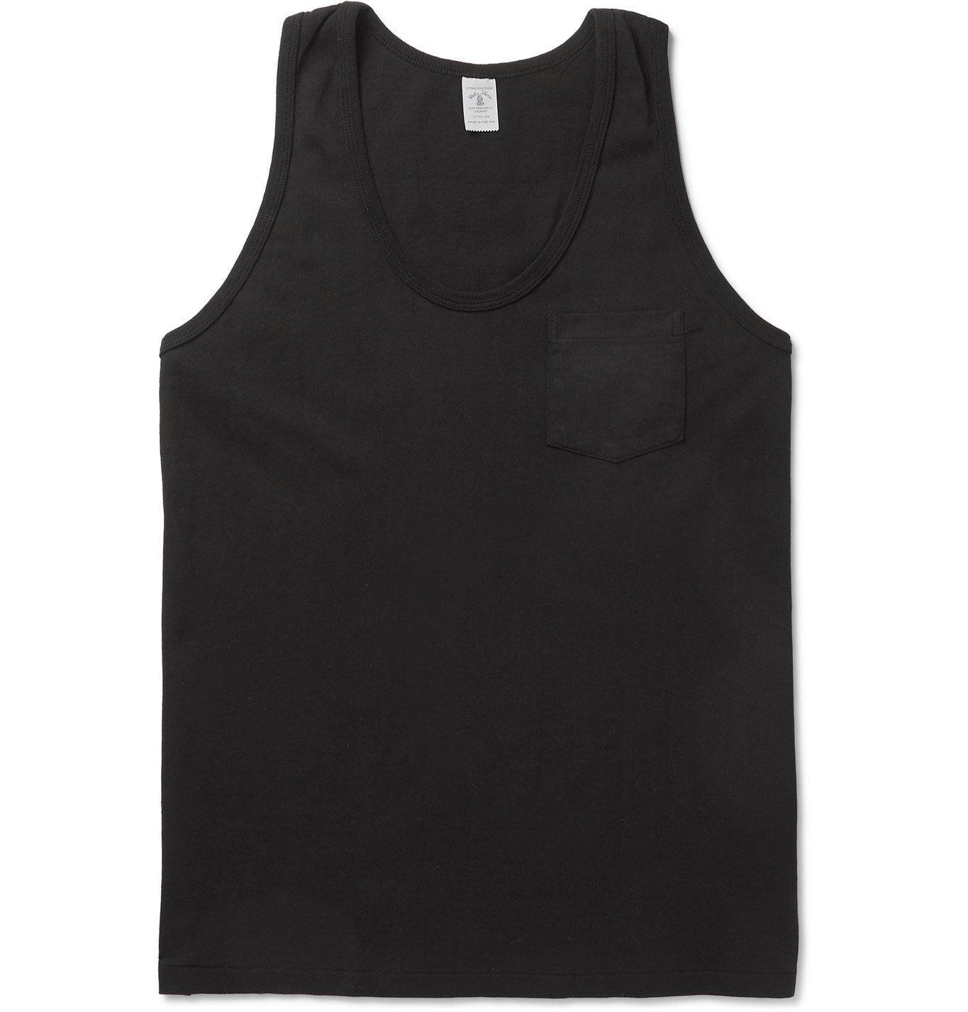 Photo: Velva Sheen - Two-Pack Cotton-Jersey Tank Tops - Black