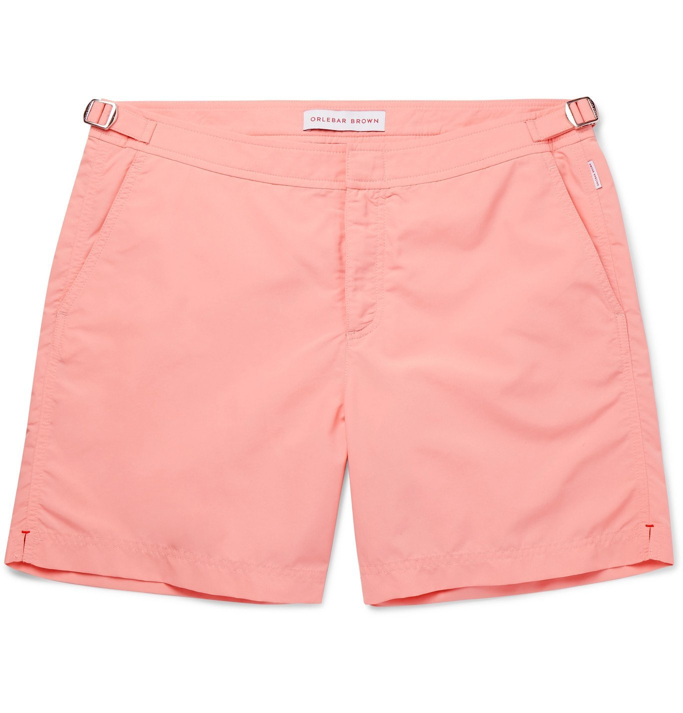 Photo: Orlebar Brown - Bulldog Mid-Length Swim Shorts - Pink
