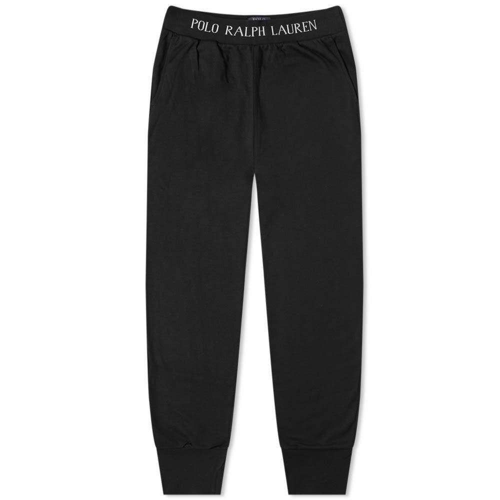 Photo: Polo Ralph Lauren Logo Rib Sleepwear Sweat Pant