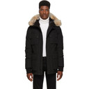 Belstaff Black Down Expedition Coat