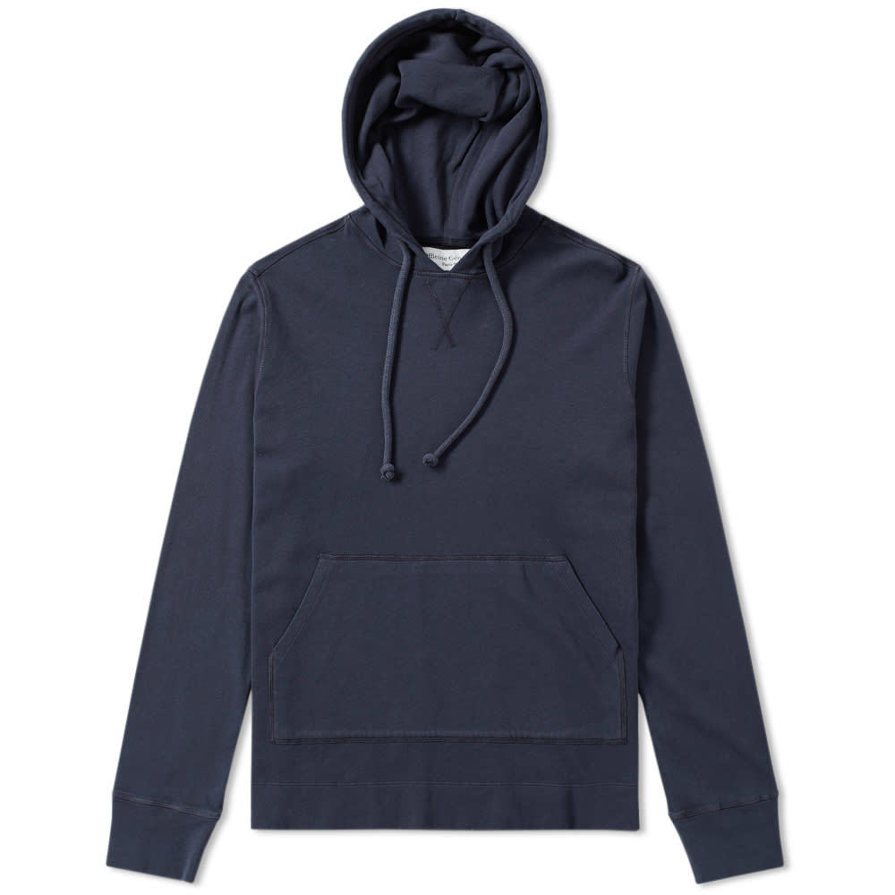 Photo: Officine Generale Pigment Dyed Popover Hoody