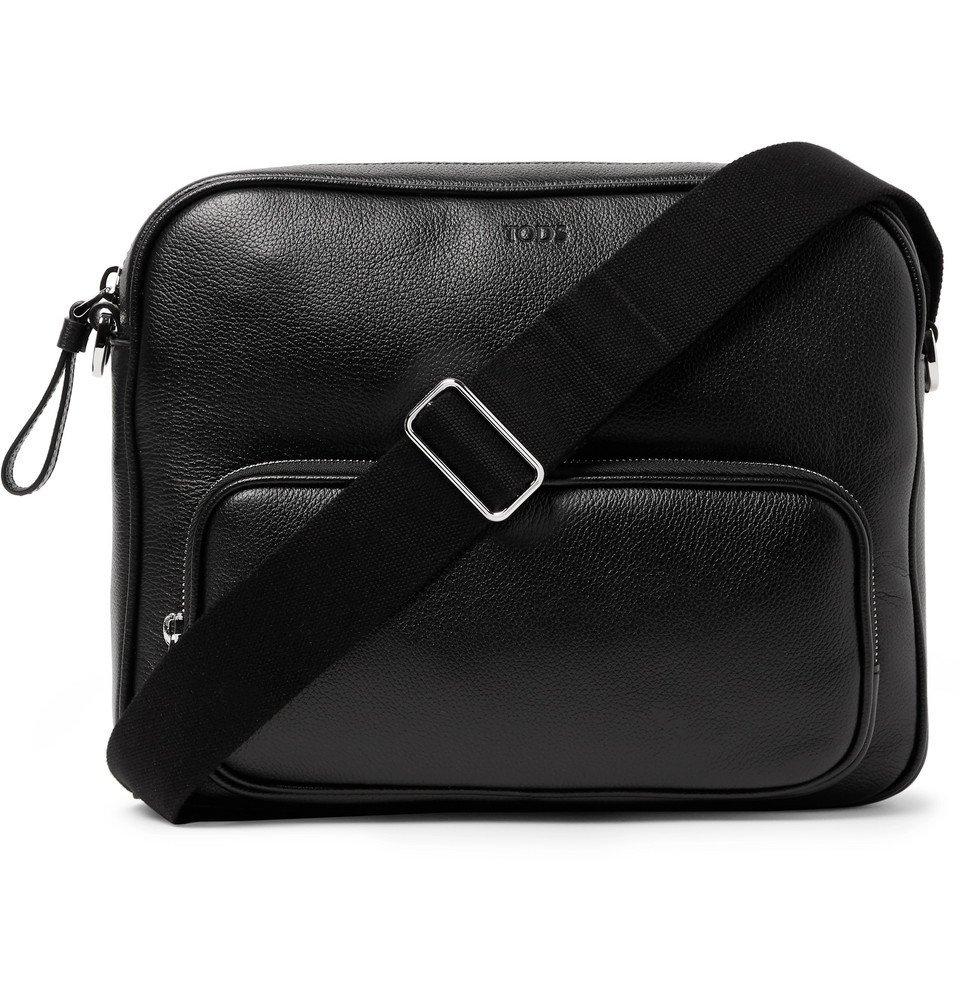 Photo: Tod's - Leather Messenger Bag - Black