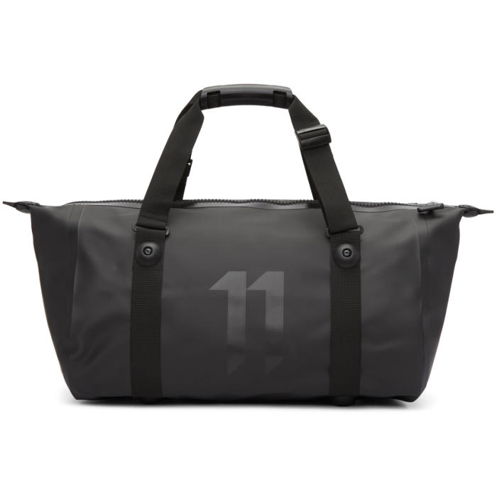 Photo: 11 by Boris Bidjan Saberi Black Ortlieb Edition Nylon Gym Duffle Bag