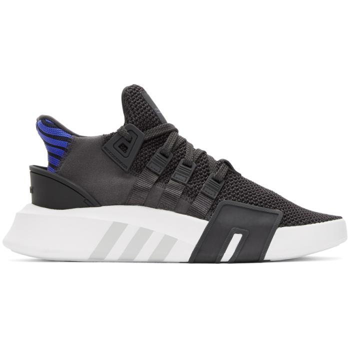 Photo: adidas Originals Grey EQT Bask ADV Sneakers
