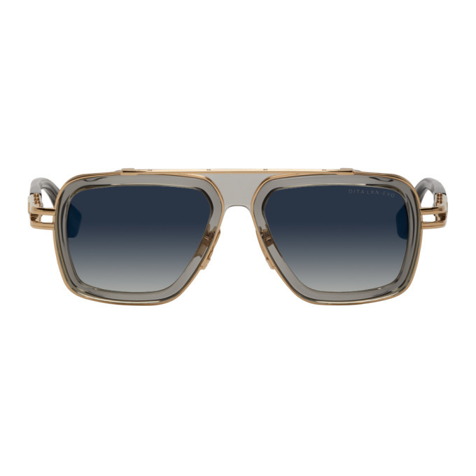 Photo: Dita Grey and Gold LXN-Evo Sunglasses