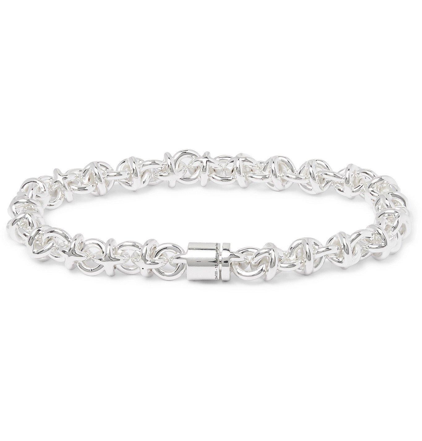 Photo: Le Gramme - Le 29 Sterling Silver Chain Bracelet - Silver