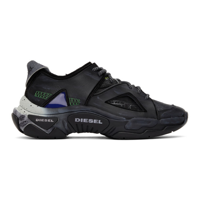 Photo: Diesel Black S-Kipper SP Sneakers