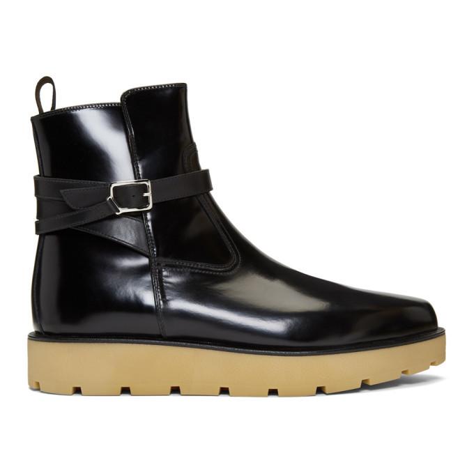 Photo: Christian Louboutin Black Kicko Crepe Boots