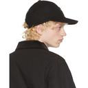 Sacai Black Melton Cap
