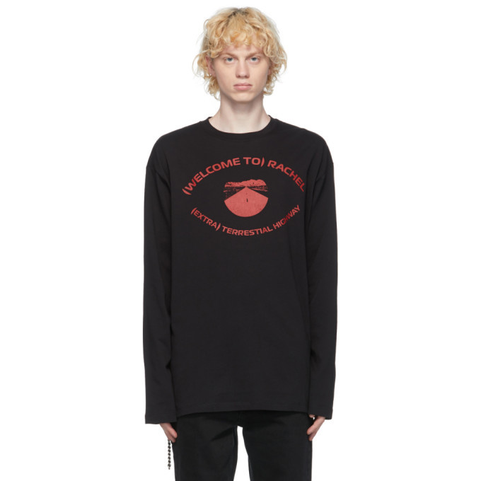 Photo: Raf Simons Black Highway Eye T-Shirt