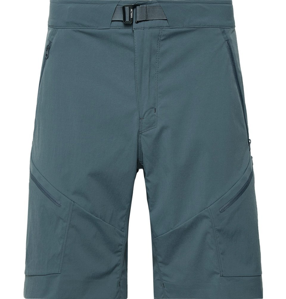 Photo: Arc'teryx - Palisade Slim-Fit TerraTex Shorts - Men - Gray green