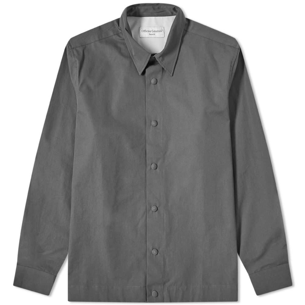 Photo: Officine Generale Stan Overshirt
