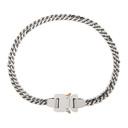 1017 ALYX 9SM Silver Cubix Chain Necklace