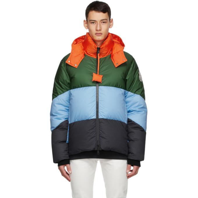 Photo: Moncler Genius 1 Moncler JW Anderson Multicolor Down Jacket