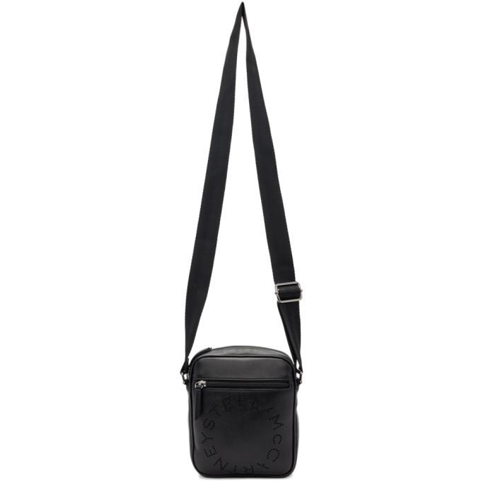 Photo: Stella McCartney Black Logo Messenger Bag