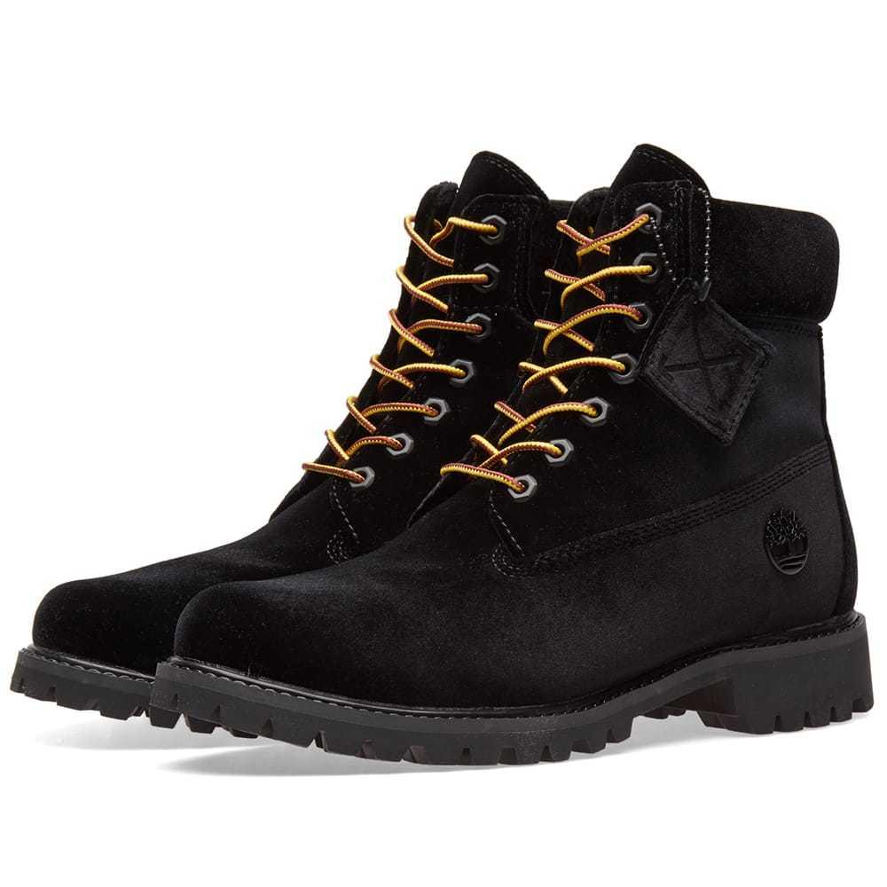 Photo: Off-White x Timberland Boot Black