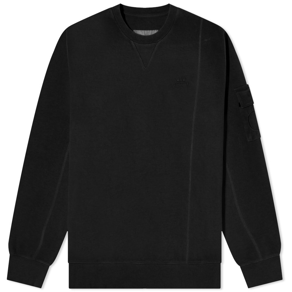 Photo: A-COLD-WALL* Essential Compass Pocket Crew Sweat