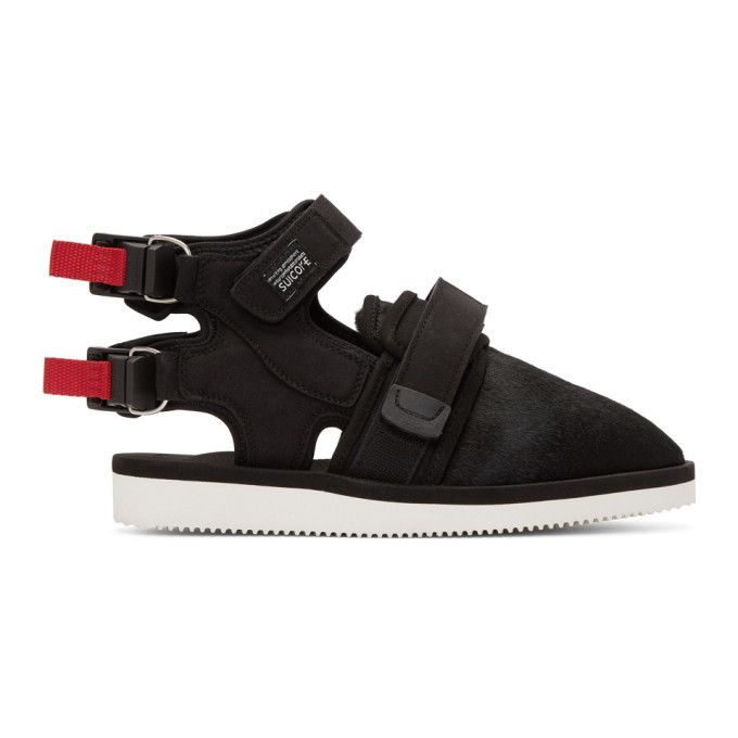 Photo: John Elliott Black Suicoke Edition Closed Toe Sandals