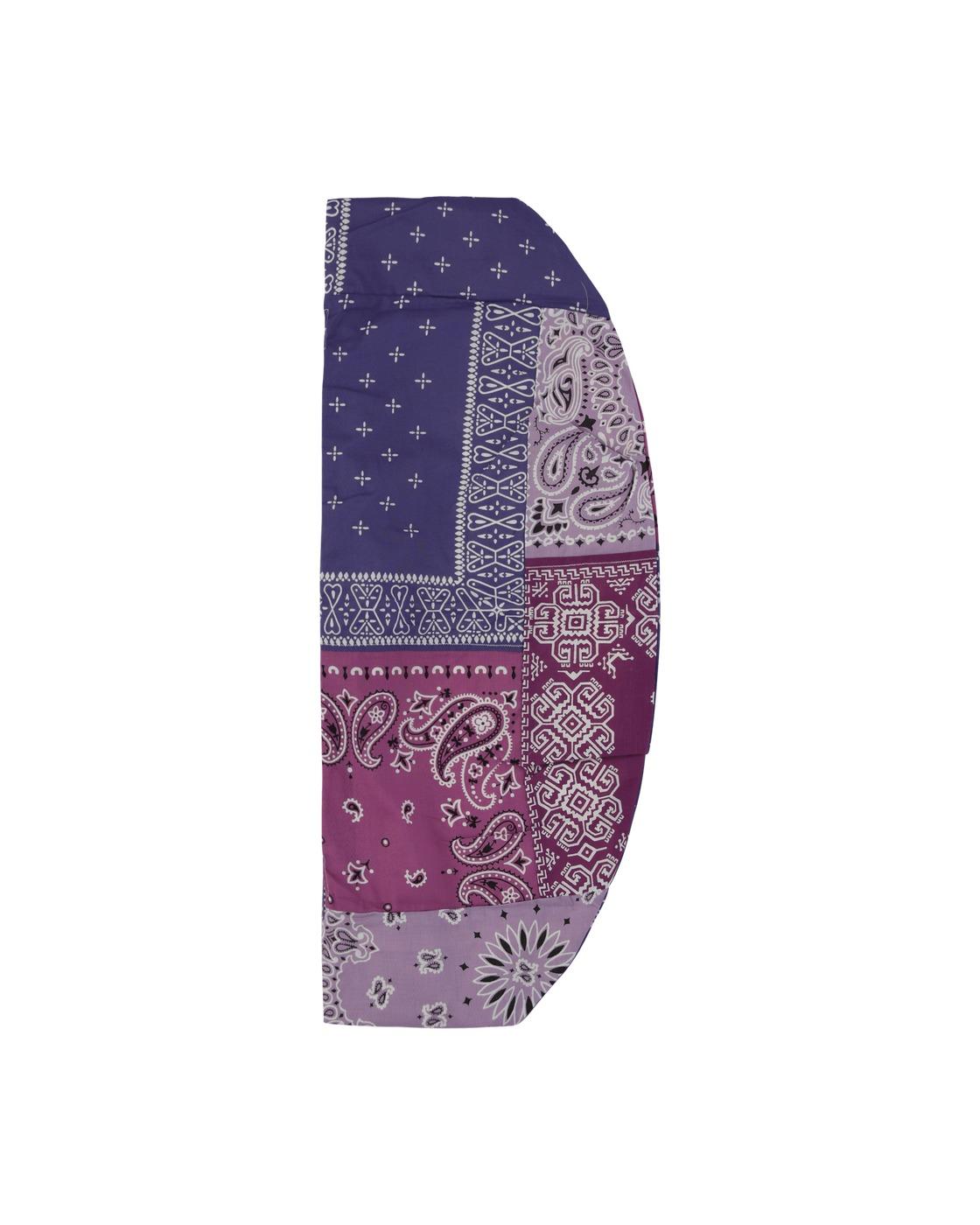 Kapital Gauze Bandana Beach Snuffkin Bag Light Purple
