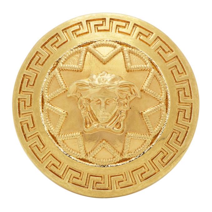 Photo: Versace Gold Medusa Star Ring