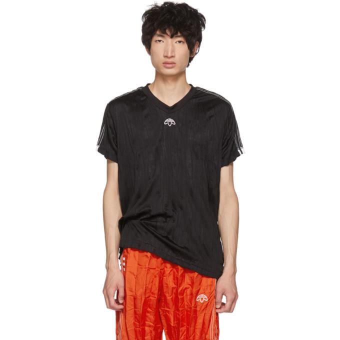 Adidas Originals By Alexander Wang Black Regular Soccer Jersey T