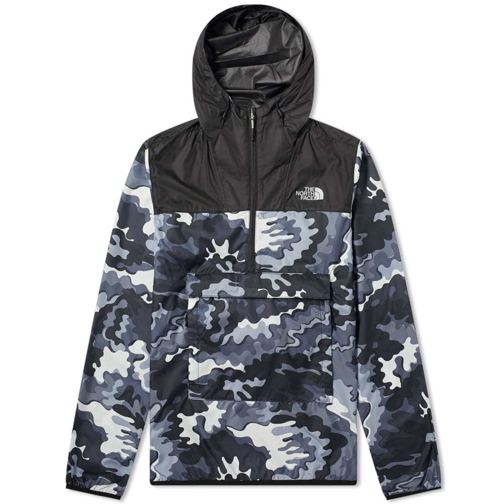 3fae3a600015 Photo  The North Face Psychedelic Camo Novelty Fanorak Jacket