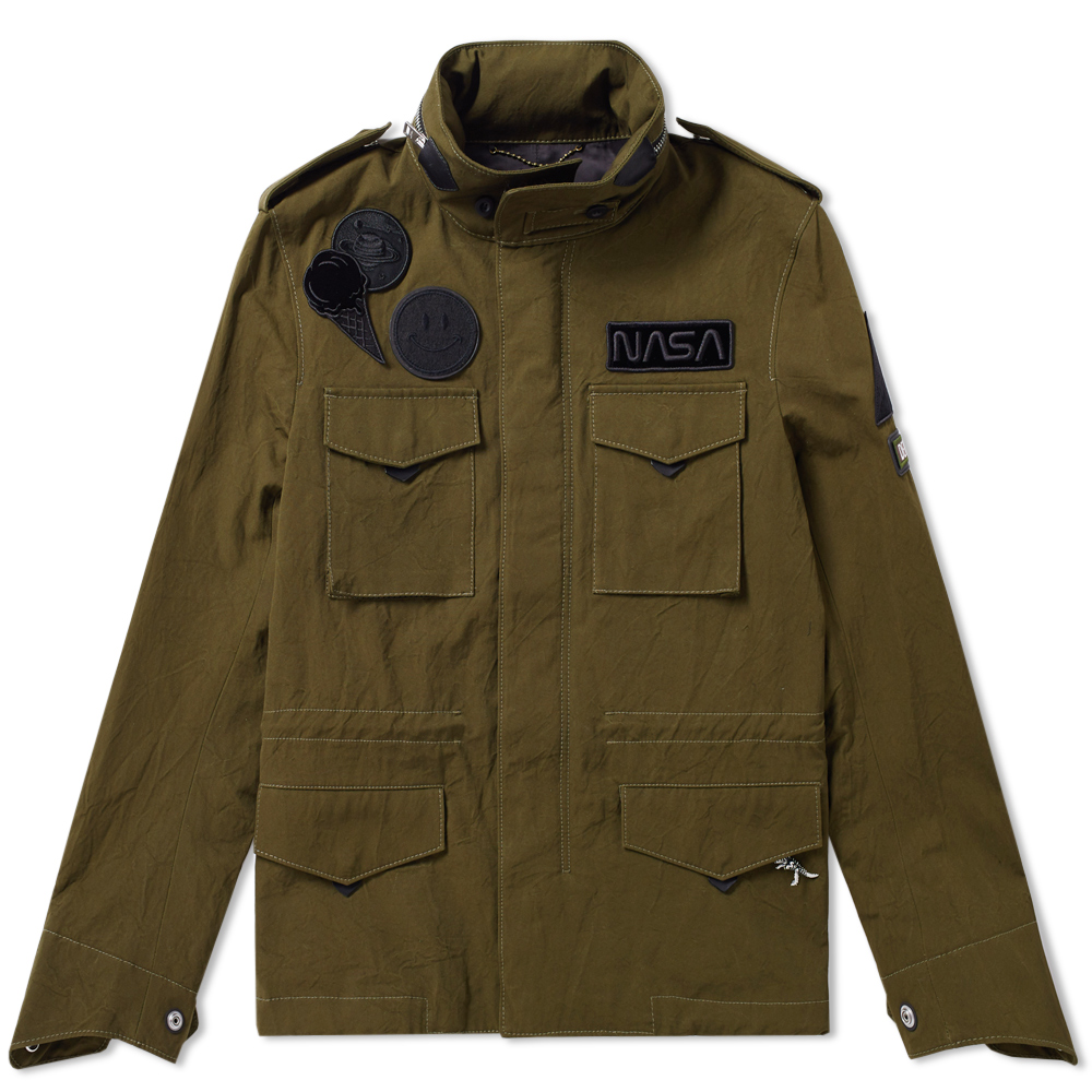 Photo: Coach Space Patch M65 Jacket Green