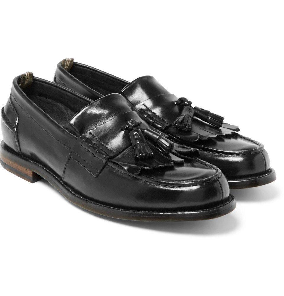 Photo: Officine Creative - Cambridge Leather Kiltie Tasselled Loafers - Black