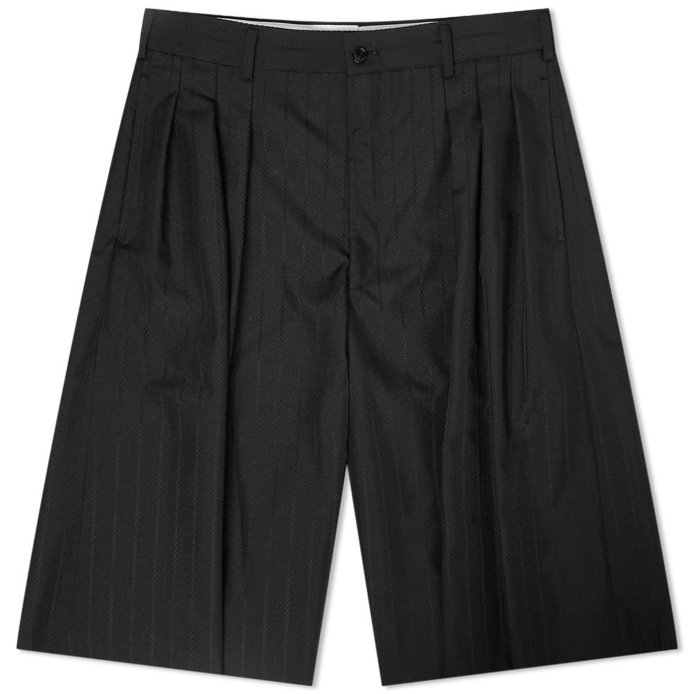 Photo: Comme des Garcons Homme Plus Pinstripe Wide Leg Shorts