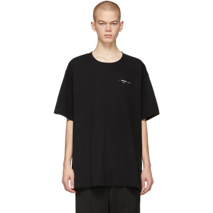 Photo: Off-White Black Colored Arrows Over T-Shirt