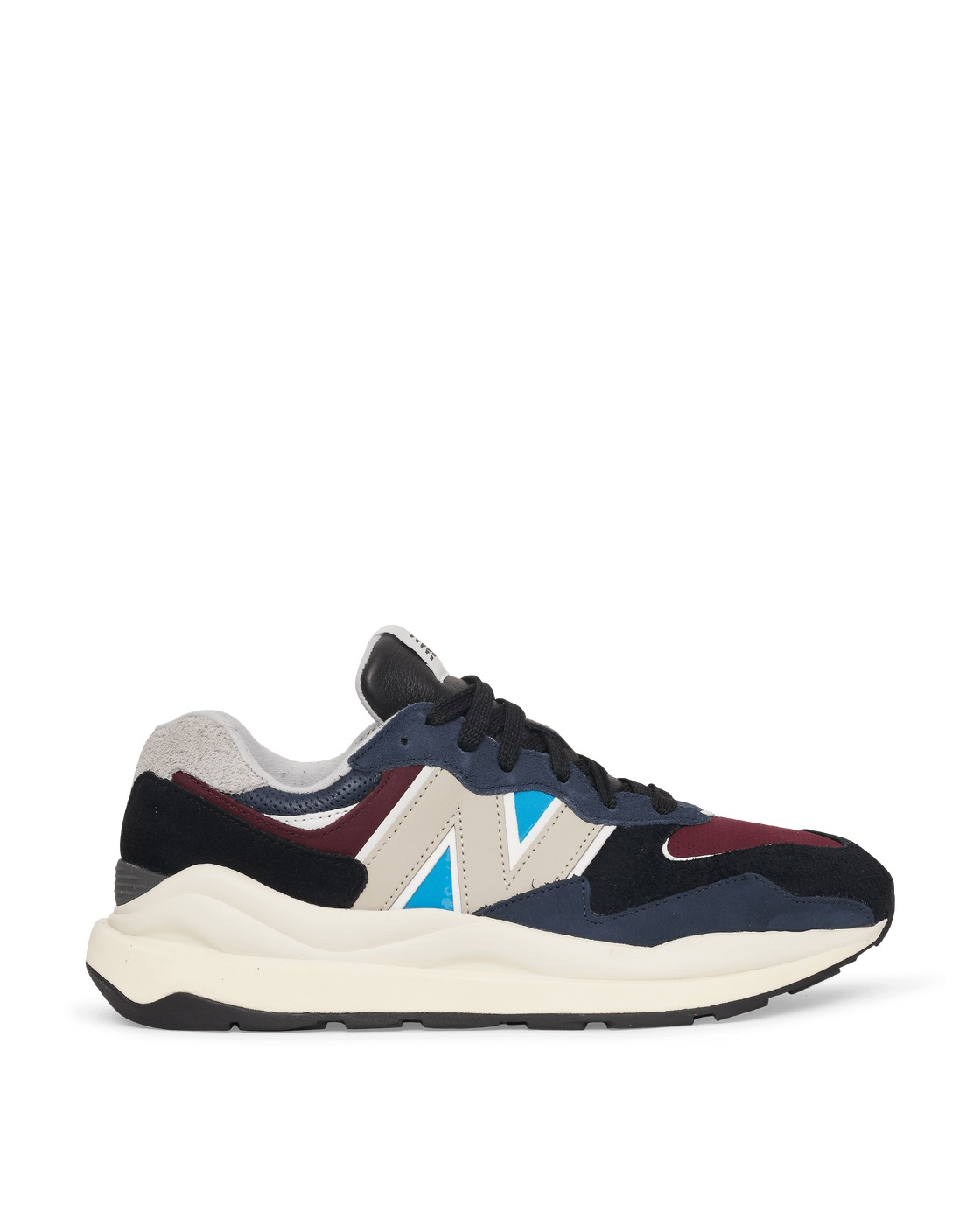 Photo: New Balance 57/40 Sneakers Navy/Burgundy