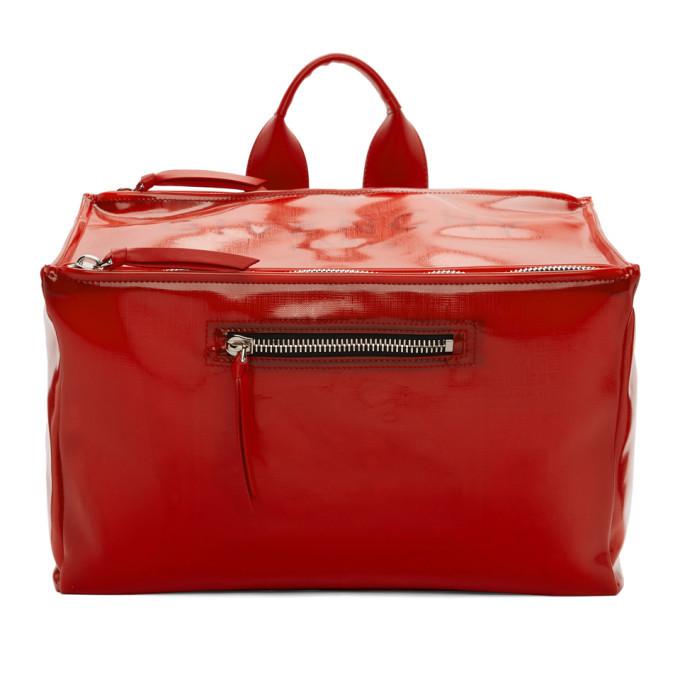 Photo: Givenchy Red Pandora Messenger Bag