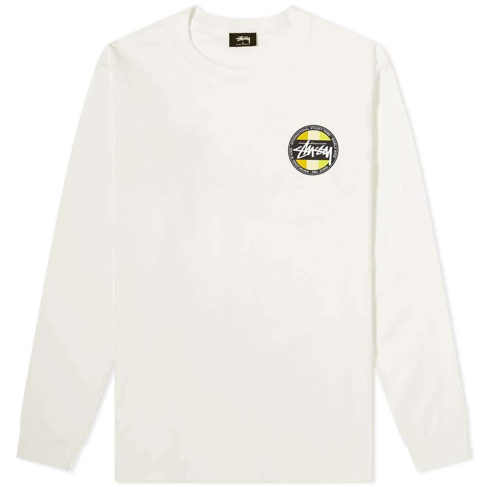 Photo: Stussy Long Sleeve Classic Dot Pigment Dyed Tee
