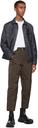 Giorgio Armani Navy Cotton-Denim Blouson Jacket