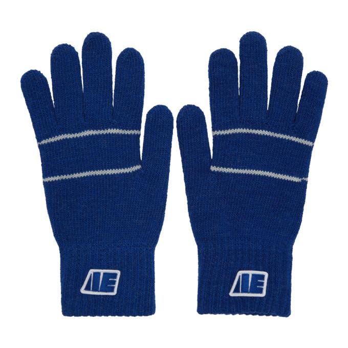 Photo: ADER error Blue Centre Stripe Gloves