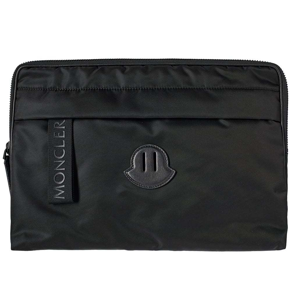 Photo: Moncler Multi Pocket Laptop Case