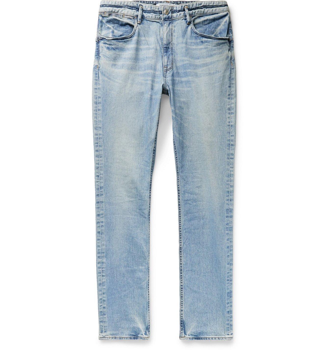 Photo: nonnative - Dweller Skinny-Fit Denim Jeans - Blue