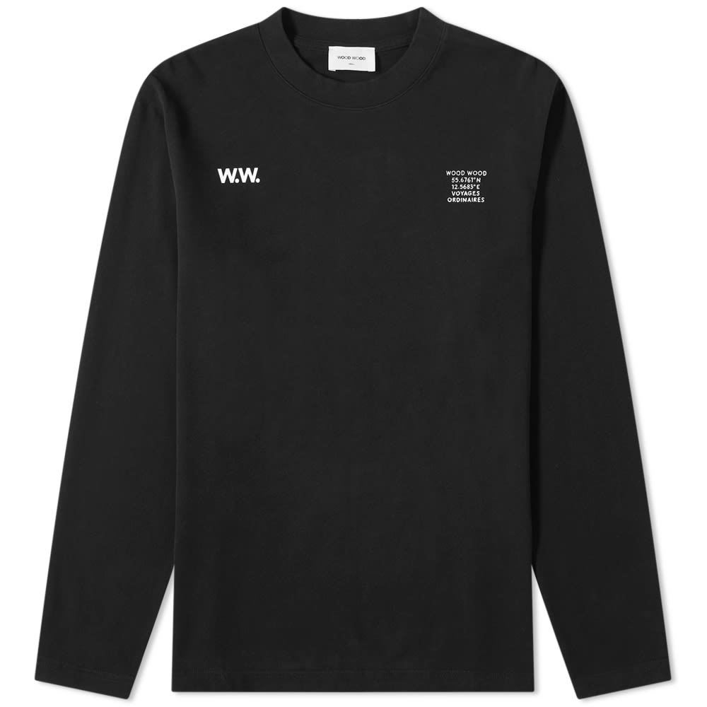 Photo: Wood Wood Long Sleeve Anakin Voyage Ordinaires Tee