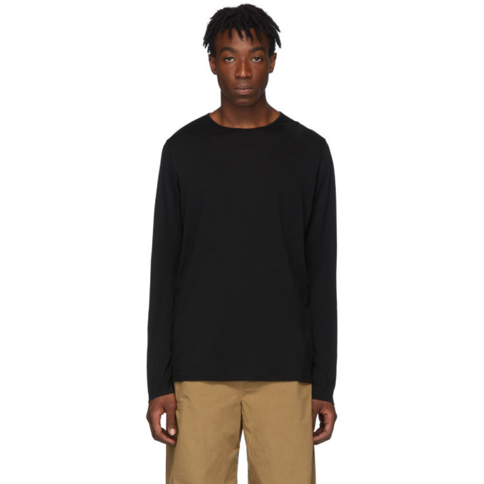 Photo: Veilance Black Frame Long Sleeve T-Shirt