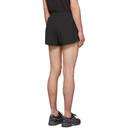 Asics Black Split Shorts