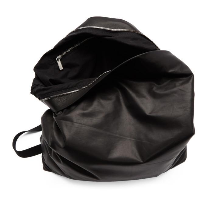 Rick Owens Black Mega Mail Bag