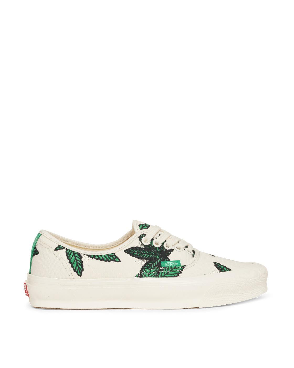 Photo: Vans Sweet Leaf Og Authentic Lx Sneakers Green