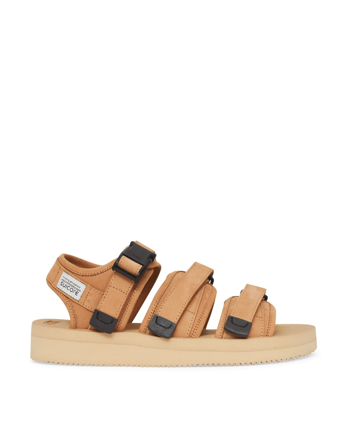 Photo: Suicoke Gga Vnu Sandals Beige